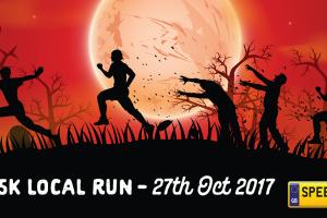 Spook 5K Enniskillen Local Run - Speedy Reg