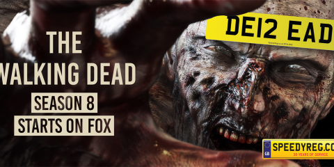The Walking Dead Number Plates - Speedy Reg
