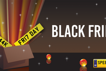 Black Friday Number Plates - Speedy Reg