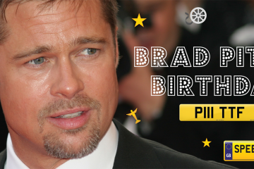 Brad Pitt's Birthday Number Plates - Speedy Reg
