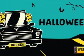 Halloween Number Plates - Speedy Reg