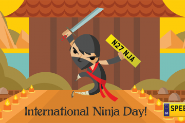 Ninja Day Number Plates - Speedy Reg