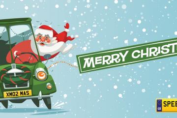 Christmas Gifts Ideas Number Plates - Speedy Reg