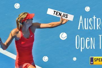 Australian Open Tennis Number Plates - Speedy Reg