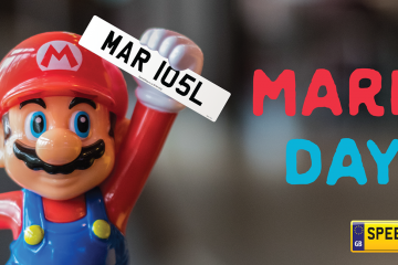Mario Day Number Plates - Speedy Reg