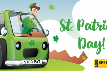 St PatricksDay Number Plates - Speedy Reg