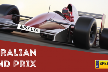 Australian Grand Prix Number Plates - Speedy Reg