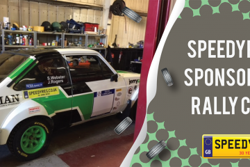 Rally Car Sponsorship - Speedy Reg