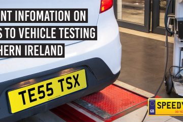 MOT Changes in Northern Ireland - Speedy Reg