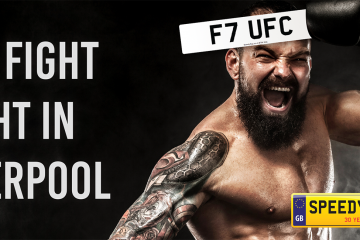 UFC Fight Number Plates -Speedy Reg