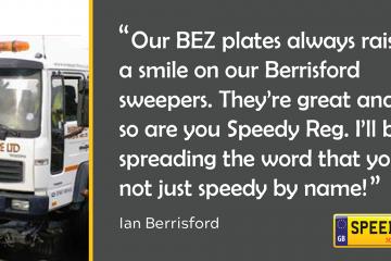 BEZ Number Plates - Speedy Reg