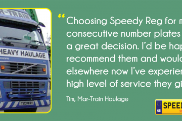 Mar-Train Haulage Customer Thanks - Speedy Reg