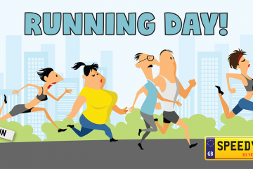 Running Day Number Plates - Speedy Reg