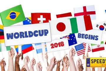 World Cup Number Plates - Speedy Reg