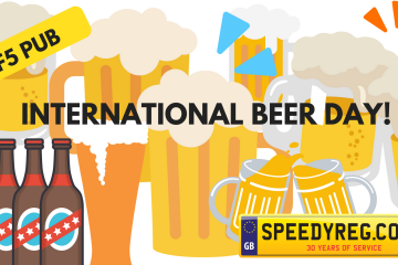 International Beer Day Number Plates - Speedyreg