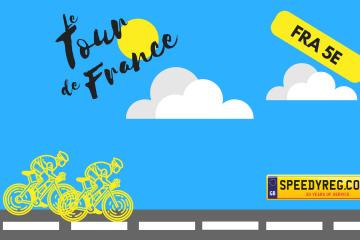 Le Tour de France Number Plates - Speedy Reg