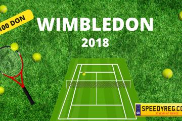 Wimbledon 2018 Number Plates - Speedyreg