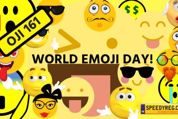 World Emoji Day Number Plates - Speedy Reg