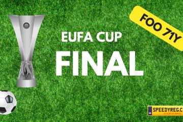 EUFA Cup Final Number Plates- Speedy Reg