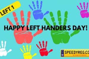 Left Handers Day Number Plates - Speedy Reg