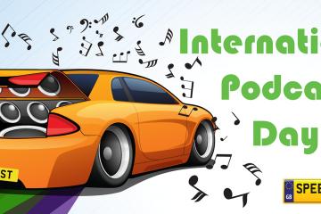 International Podcast Number Plates - Speedy Reg