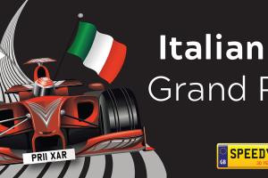 Italian F1 Grand Prix Number Plates - Speedy Reg