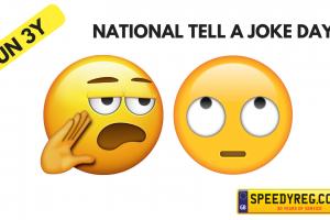 Tell a Joke Number Plates - Speedy Reg