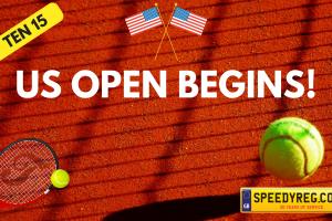 US Open Begins Number Plates - Speedy Reg
