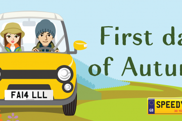 First Day of Autumn Number Plates - Speedy Reg
