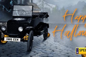 Happy Halloween Number Plates - Spookyreg