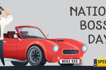 National Boss Day Number Plates - Speedyreg