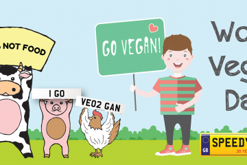 World Vegan Day Number Plates- Speedy Reg