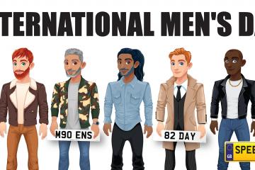 International Men's Day Number Plates- Speedy Reg