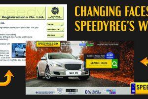 Changing Faces of Speedyreg's Website