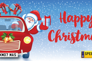 Happy Christmas Number Plates - Speedyreg