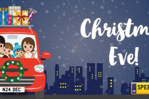 Christmas Eve Number Plates - Speedyreg