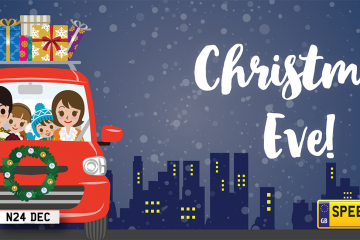 Christmas Eve Number Plates - Speedyreg
