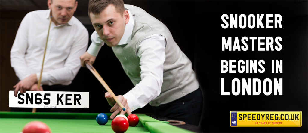 Snooker Masters Begins - Speedy Reg
