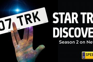 Star Trek Number Plates - Speedy Reg