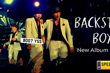 Backstreet Boys Number Plates - Speedy Reg