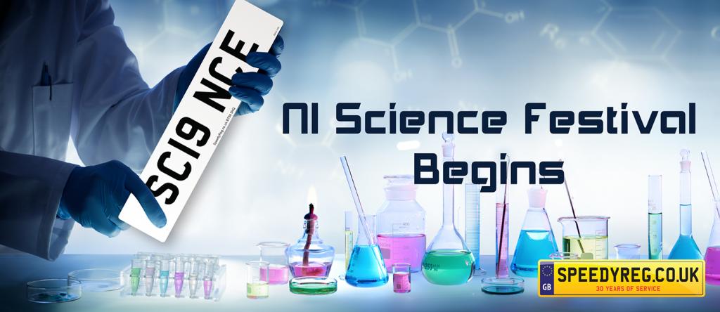 Science Number Plates - Speedyreg