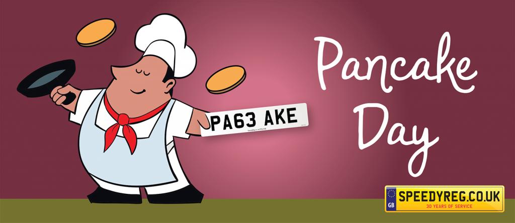 Pancake Number Plates - Speedyreg