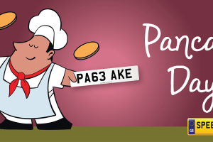 Pancake Day Number Plates - Speedy Reg