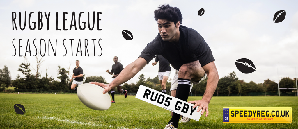 Rugby Number Plates - Speedy Reg