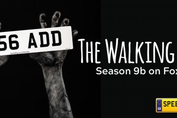 Walking Dead Number Plates - Speedy Reg