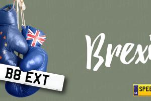 Brexit Number Plates - Speedy Reg