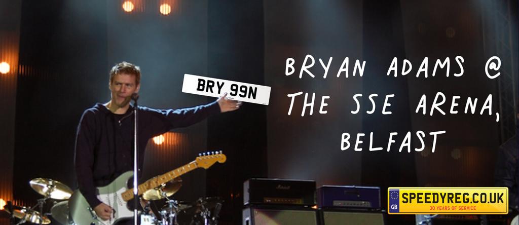 Bryan Adams Number Plates - Speedy Reg