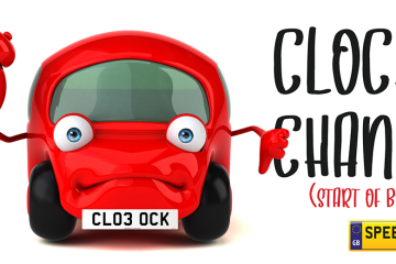 Clock Change Number Plates - Speedy Reg