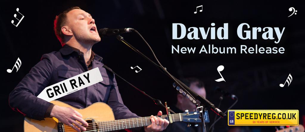 David Gray New Album - Speedy Reg