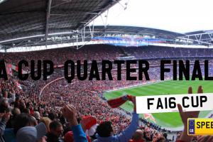FA Cup Final - Speedy Reg